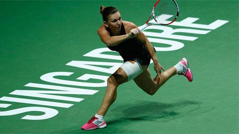 Serena - Halep: Kết cục khó tin (WTA Finals) - 1