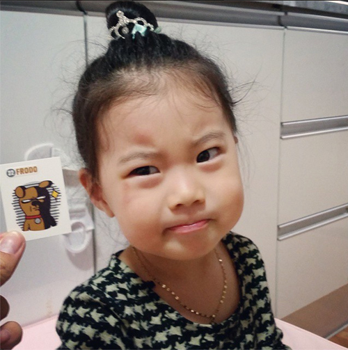 Sao nhí Hàn 3 tuổi hút hơn 700.000 fan - 3