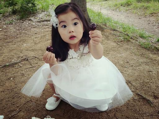Sao nhí Hàn 3 tuổi hút hơn 700.000 fan - 1