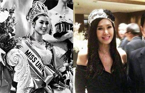 Hoa hậu Hoàn vũ 67 tuổi vẫn trẻ đẹp như thiếu nữ - 1