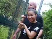 Thu Minh bị chỉ trích vì clip khoe dùng mật gấu tươi