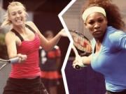 Sharapova, Serena không còn đương lui (WTA Finals)