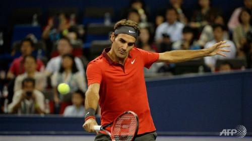 Federer - Mueller: Tàu tốc hành lăn bánh  (V1 Basel Open) - 1