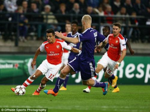Anderlecht – Arsenal: Thoát hiểm phút cuối - 1