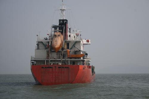 Tàu Sunrise 689 đã về đến Quảng Trị - 1