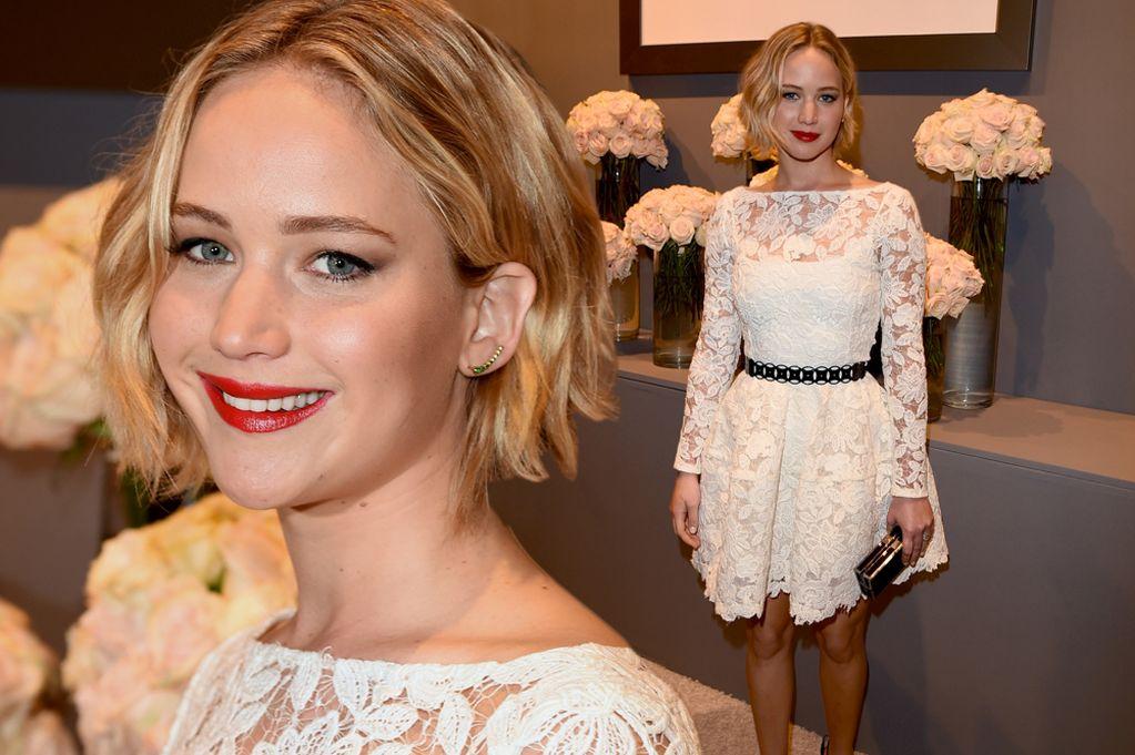 Sau vụ ảnh nóng, Jennifer Lawrence khoe nhẫn đính hôn - 9