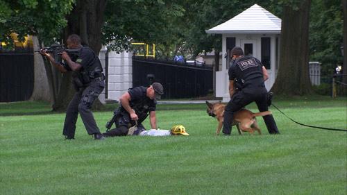 Mỹ: Đột nhập Nhà Trắng, đá bay chó nghiệp vụ - 2