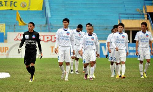 CS.Đồng Tháp có thể không dự V.League 2015: Vật cản 35 tỷ đồng - 1