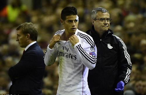 Real: Cú vẩy bóng chân trái hoàn hảo của Rodriguez - 3