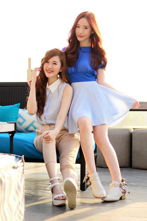 Hai chị em xinh đẹp khiến dân mạng mê mẩn - 12