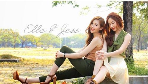 Hai chị em xinh đẹp khiến dân mạng mê mẩn - 14