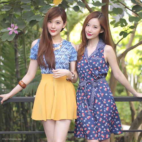 Hai chị em xinh đẹp khiến dân mạng mê mẩn - 3