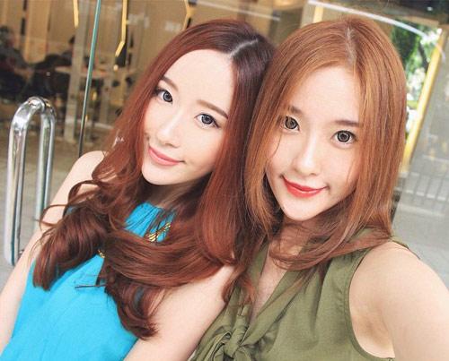 Hai chị em xinh đẹp khiến dân mạng mê mẩn - 4