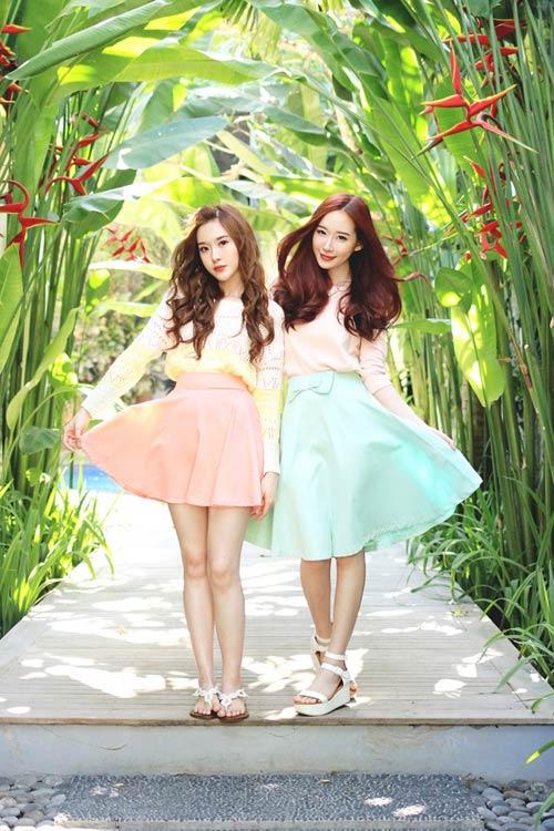 Hai chị em xinh đẹp khiến dân mạng mê mẩn - 5