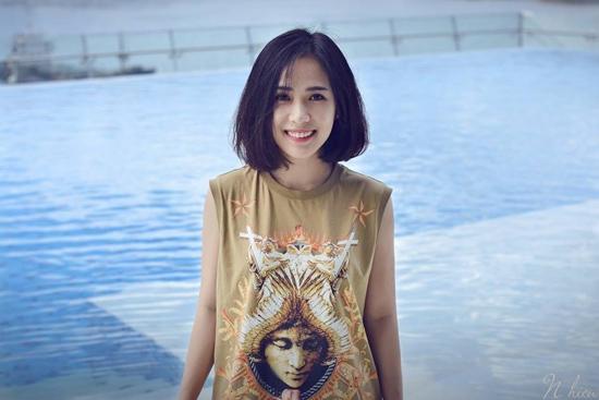 Cô nàng tóc ngắn nổi tiếng nhờ mặc đẹp ở Sài Gòn - 2