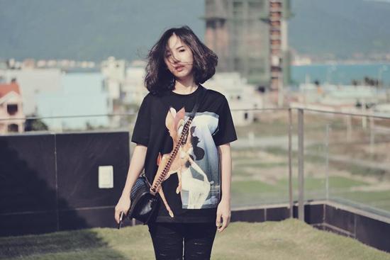 Cô nàng tóc ngắn nổi tiếng nhờ mặc đẹp ở Sài Gòn - 5