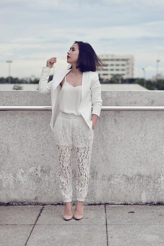 Cô nàng tóc ngắn nổi tiếng nhờ mặc đẹp ở Sài Gòn - 10