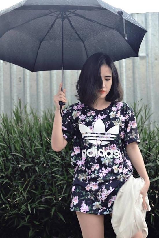 Cô nàng tóc ngắn nổi tiếng nhờ mặc đẹp ở Sài Gòn - 11