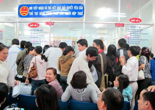 Doanh nghiệp ở Hà Nội không phải đến nộp thuế trực tiếp - 1