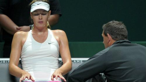 Sharapova bình thản nhận thất bại thứ 2 ở WTA Finals - 1