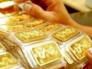 Giá vàng giảm sau 3 phiên tăng liên tiếp