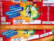 Phá đường dây làm giả vé Giải bóng đá U21 Quốc tế