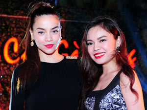 Thầy trò Hà Hồ mở tiệc mừng chiến thắng tại X-Factor
