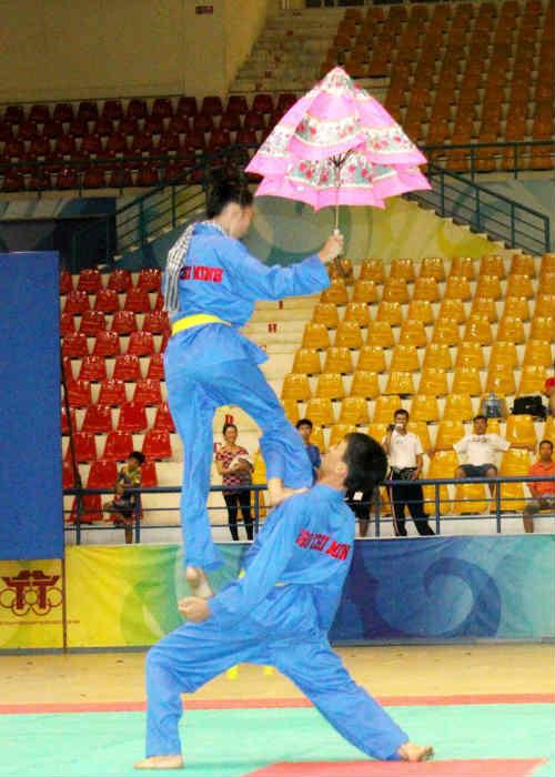 Ngày hội võ Việt trên đất Myanmar