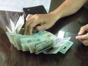 Bắt một trung úy CSGT nhận hối lộ