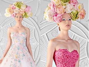 Các tuyệt phẩm váy cưới màu đẹp tới ngỡ ngàng
