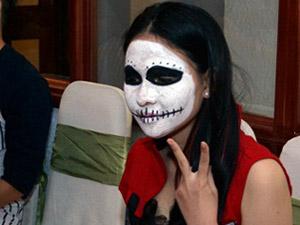 Giới trẻ Sài Thành hóa trang ấn tượng đón Halloween