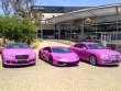 """Ngắm Lamborghini và Bentley màu hồng cực """"chất"""""""
