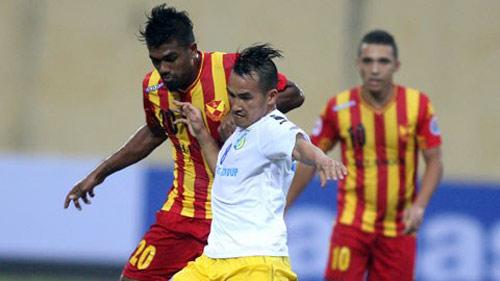 Selangor - HN.T&T: An bài trong hiệp 1 - 1