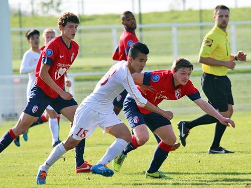 U19 VN gây ấn tượng với HLV U19 Lille - 2