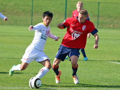 U19 VN gây ấn tượng với HLV U19 Lille - 3