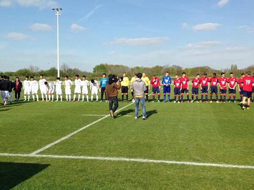 Công Phượng mờ nhạt, U19 VN cầm hòa U19 Lille - 1