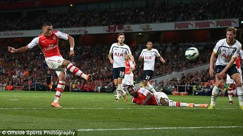 Arsenal - Tottenham: Những sai lầm tai hại - 1