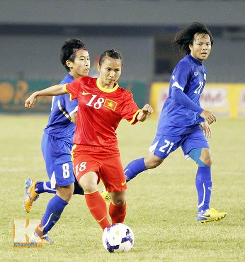 """Đội tuyển nữ Việt Nam - Thái Lan: Quyết """"đòi nợ"""" - 1"""