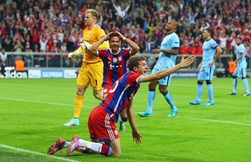 Bayern mất oan 2 quả penalty - 1