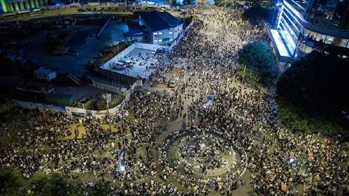 Cảnh sát đàn áp cuộc biểu tình lớn nhất Hong Kong - 1