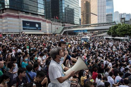 Cảnh sát đàn áp cuộc biểu tình lớn nhất Hong Kong - 2