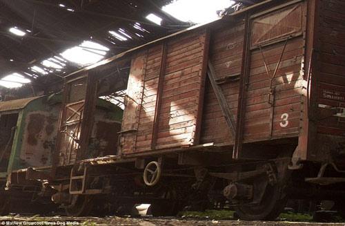 Bên trong nghĩa địa tàu hỏa ở châu Âu - 6