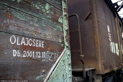 Bên trong nghĩa địa tàu hỏa ở châu Âu - 12