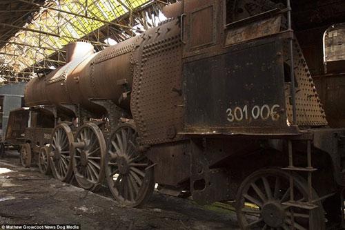 Bên trong nghĩa địa tàu hỏa ở châu Âu - 2