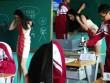 Cô giáo chân dài xinh đẹp như hot girl