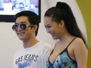 Vợ chồng Phi Thanh Vân tình cảm đi xem phim