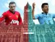 MU & Man City lọt top 10 trận derby nóng bỏng nhất