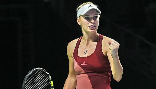 Người đẹp Wozniacki gây ấn tượng ở giải marathon - 1