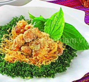 Ngon cơm với ăn sườn non rang muối - 1