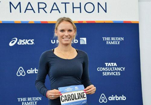 Người đẹp Wozniacki gây ấn tượng ở giải marathon - 2